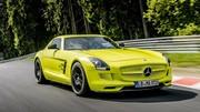 Mercedes SLS AMG Electric Drive : nouveau record sur le Nürburgring pour un véhicule électrique