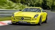 La Mercedes SLS AMG Electric Drive bat l'Audi R8 e-Tron