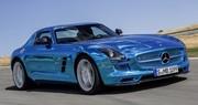 Mercedes SLS AMG Electric Drive : record du tour du Nürburgring pour un véhicule électrique de série