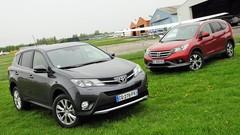 Essai Honda CR-V 2.2 i-DTEC 150 ch vs Toyota RAV4 D-CAT 150 ch : Les SUV des familles