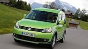 Essai Volkswagen Cross Caddy : Le Caddy chic et cher