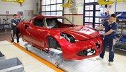 Alfa Romeo 4C : nouvelles informations et photos