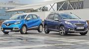 Essai Peugeot 2008 vs Renault Captur : A couteaux tirés