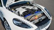 Aston Martin DB9 hybride rechargeable : une piste pour le futur
