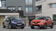 Essai Renault Captur vs Peugeot 2008 : coup de griffe sur le Captur