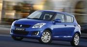Timides retouches pour la Suzuki Swift