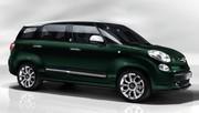 Nouvelle FIAT 500L Living : sept places et coffre géant