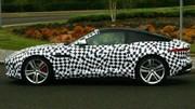 Le coupé Jaguar F-Type en balade