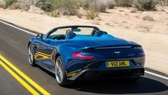 Aston Martin Vanquish Volante : 573 ch cheveux au vent