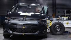 Euro NCAP : 5 étoiles pour le Citroën C4 Picasso 2