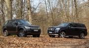 Essai Mercedes GL vs Range Rover 4 : Le combat des chefs