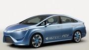 Près de 500 km d'autonomie pour la future Toyota à hydrogène