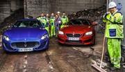 Essai Maserati GranTurismo Sport contre BMW M6 : Les teignes