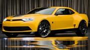 Transformers 4 : la Camaro Bumblebee fait peau neuve !