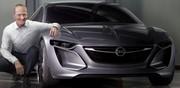 L'étude Monza amorce un virage du style Opel