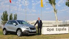 Opel Mokka : produit en Europe en 2014