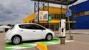Nissan et Ikea déploient des bornes de recharge supplémentaires
