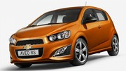 Chevrolet Aveo RS : bientôt disponible en Europe ?