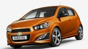 La Chevrolet Aveo RS bientôt en Europe ?