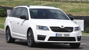 Essai Skoda Octavia Combi RS : top fuel !
