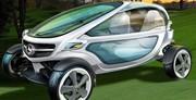 Mercedes revisite la voiturette de golf