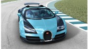 """Une Bugatti Veyron Legends """"Jean-Pierre Wimille"""" à Pebble Beach"""