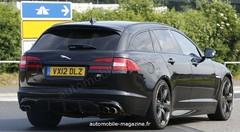 Jaguar XFR-S Sportbrake : Du coffre... même sous le capot