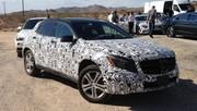 Mercedes-Benz : les futurs GLA et Classe S Coupé en photo