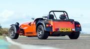 Essai Caterham Seven 485 R : orange très pressée