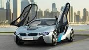 La BMW i8 dévoilée au salon de Francfort