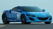 Honda : la NSX a fait ses premiers tours de roue en public