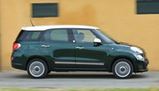 Essai Fiat 500L Living face au Lodgy et à l'Altea