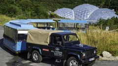 Land Rover teste son Defender électrique