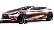 Infiniti Q30 Concept : premier teaser avant Francfort