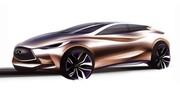 L'Infiniti Q30 concept arrivera à Francfort