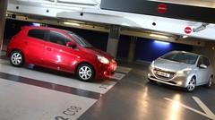 Essai  Mitsubishi Space Star 1.2 MIVEC 80 ch VS Peugeot 208 1.2 VTi 82 ch : Chameaux à trois pattes