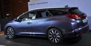 La Honda Civic Tourer nous dévoile sa modularité avant le Salon de Francfort
