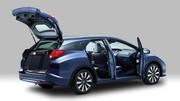 La nouvelle Honda Civic Tourer (break) en photos et vidéo