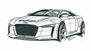 Audi : une base d'A6 et un V8 de 600 chevaux pour le nouveau Coupé Quattro ?