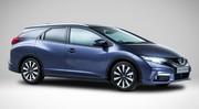 Honda Civic : le break Tourer en détails