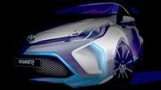 Toyota Hybrid R : première image d'un concept à 400 chevaux
