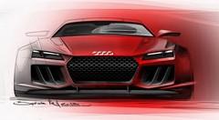 L'Audi quattro Sport e-Tron Concept se confirme