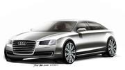 Audi A8 restylée, premières images