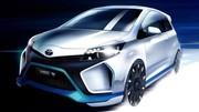 Un peu plus de la Toyota Yaris Hybrid-R Concept