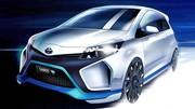 Toyota Yaris Hybrid-R Concept : première photo en entier