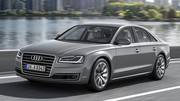 Audi A8 restylée : Nouveau regard
