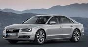 Audi A8 restylée : riposte graduée