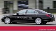 Mercedes S 500 hybride rechargeable : le super luxe devient écologique
