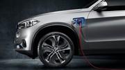 BMW Concept X5 eDrive : le X5 passe au moteur hybride rechargeable