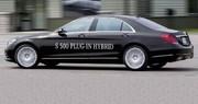 Mercedes S 500 PIH : elle aime la nature